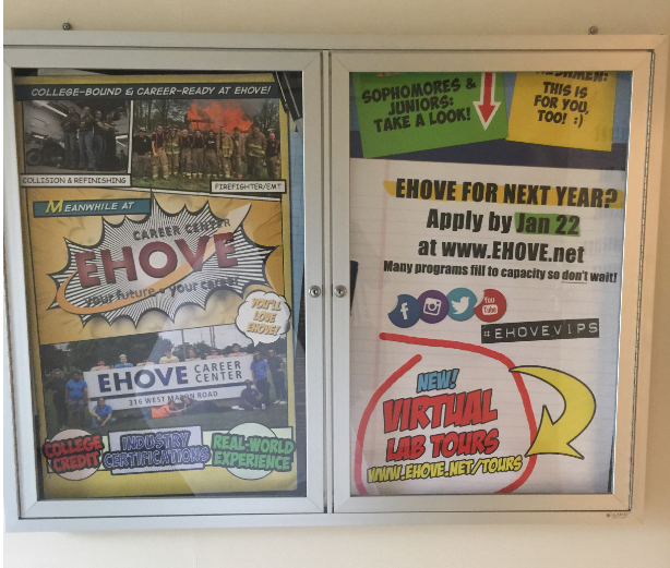 EHOVE poster on display at our District schools